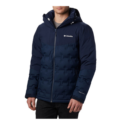 COLUMBIA - Wild Card Down Jacket-Collegiate Navy Homme Collegiate Navy