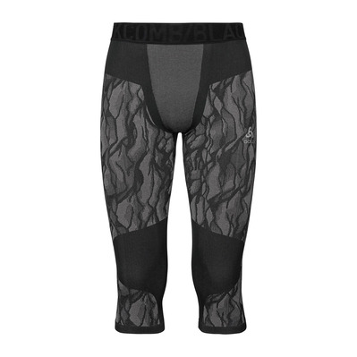 ODLO - BLACKCOMB - Piratas hombre black/odlo steel grey/silver