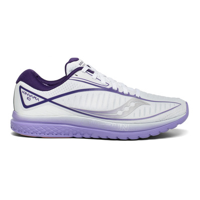 SAUCONY - KINVARA 10 - Chaussures running Femme white/purple