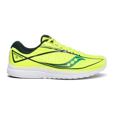 SAUCONY - KINVARA 10 - Chaussures running Homme citron/teal