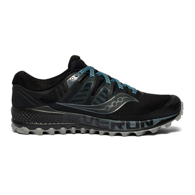 SAUCONY - PEREGRINE ISO - Chaussures trail Homme black/grey