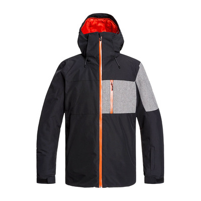 QUIKSILVER - MISSION PLUS - Chaqueta snow hombre black