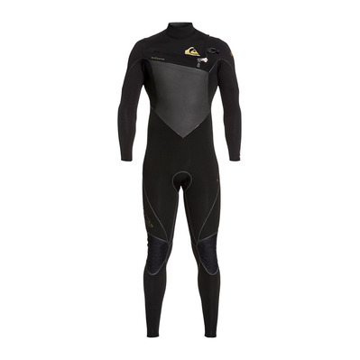 QUIKSILVER - HIGHLINE PLUS - Traje de neopreno 4/3mm hombre black