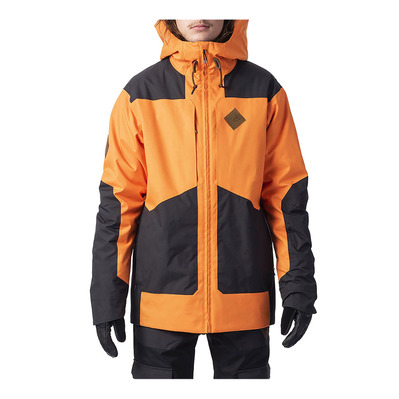 RIP CURL - POW JKT Homme PERSIMMON ORANG