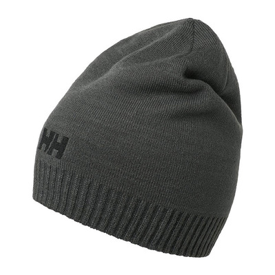 HELLY HANSEN - BRAND - Beanie - Men's - charcoal