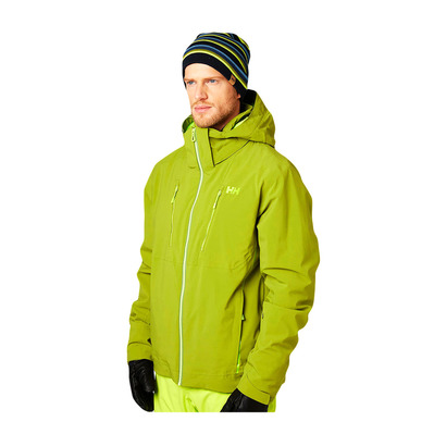 HELLY HANSEN - ALPHA 3.0 - Ski Jacket - Men's - wood green