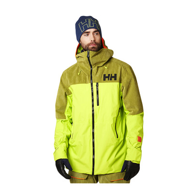 HELLY HANSEN - STRAIGHTLINE LIFALOFT - Ski Jacket - Men's - azid lime