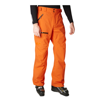 HELLY HANSEN - SOGN CARGO - Ski Pants - Men's - bright orange