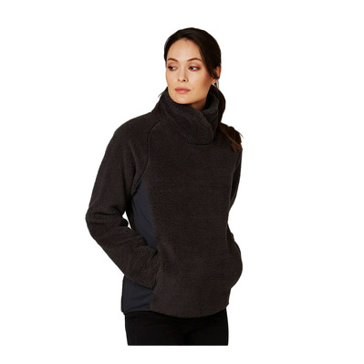HELLY HANSEN - W PRECIOUS PULL OVER FLEECE - Polaire Femme ebony