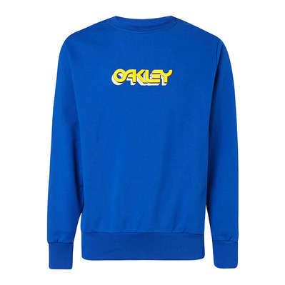 OAKLEY - TRIDIMENSIONAL CREWNECK - Sweat Homme electric shade