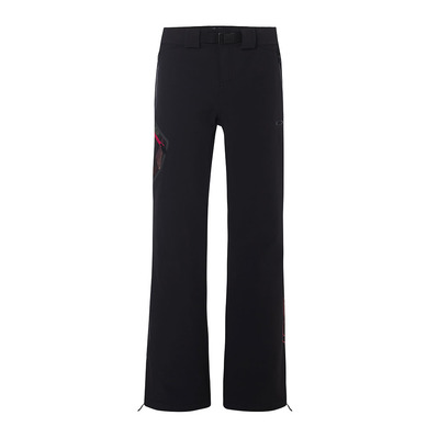 OAKLEY - HOURGLASS SOFTSHELL 3L 10K - Pantalon ski Femme blackout