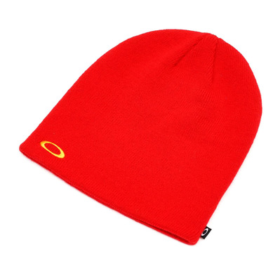 OAKLEY - FINE KNIT - Bonnet high risk red