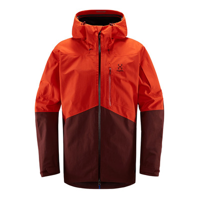 HAGLOFS - Nengal Jacket Men Habanero/Maroon Red Homme