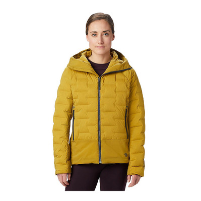 MOUNTAIN HARDWEAR - SUPER DS CLIMB - Doudoune Femme dark bolt