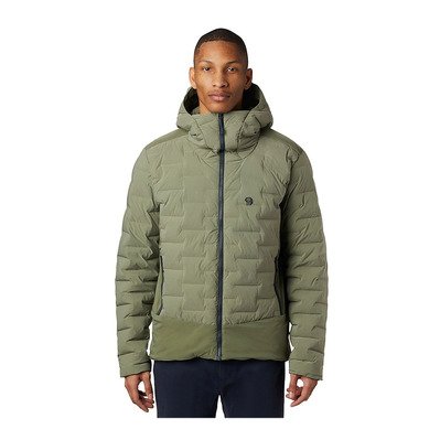 MOUNTAIN HARDWEAR - SUPER DS CLIMB - Doudoune Homme light army