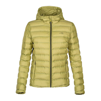 EQUILINE - ZAFFIRO - Down Jacket - Women's - golden lime