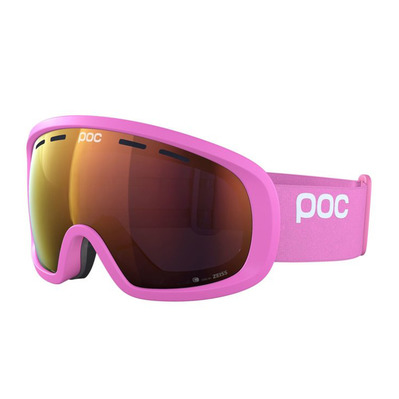 POC - FOVEA MID CLARITY - Masque ski actinium pink/spektris orange