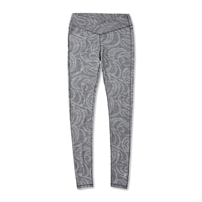 SMARTWOOL - MERINO 250 - Funktionsleggings Frauen pattern black snow swirl