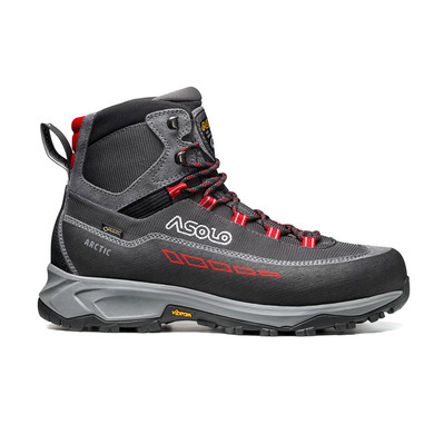 ASOLO - ARCTIC GV GTX - Chaussures randonnée Homme grey/gunmetal/red