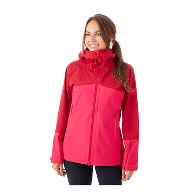 MAMMUT - MASAO - Jacket - Women's - dragon fruit/scooter