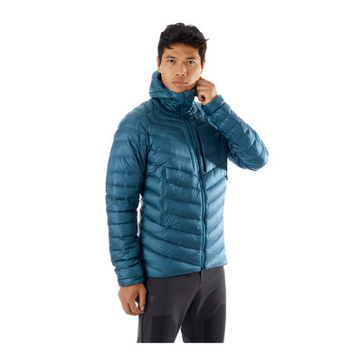 MAMMUT - BROAD PEAK - Down Jacket - Men's - wing teal/sapphire