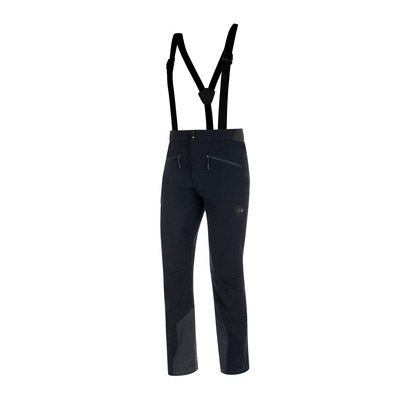 MAMMUT - BASE JUMP TOURING - Pantalon Homme black/phantom