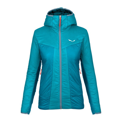SALEWA - PUEZ 2 TWC - Jacket - Women's - ocean