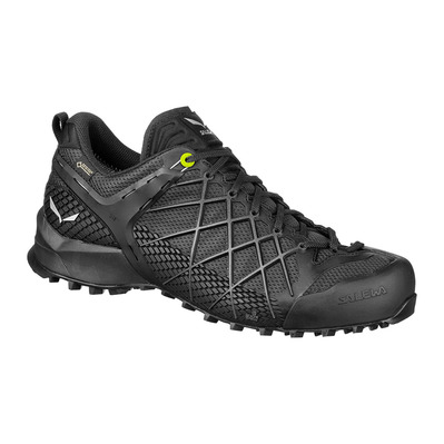 SALEWA - WILDFIRE GTX - Approach Shoes - Men's - black out/silver