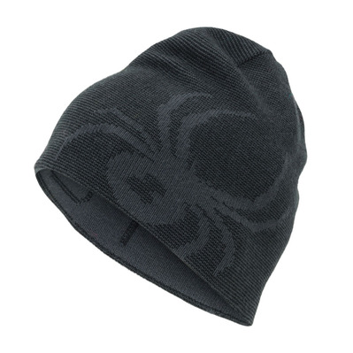 SPYDER - REVERSIBLE BUG - Bonnet réversible Junior dark grey