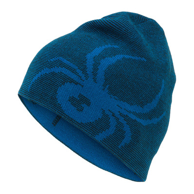 SPYDER - REVERSIBLE BUG - Bonnet réversible Junior dark blue