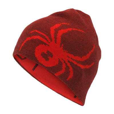 SPYDER - REVERSIBLE BUG - Bonnet réversible Junior bright red