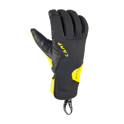 CAMP - GEKO ICE - Guantes black/yellow