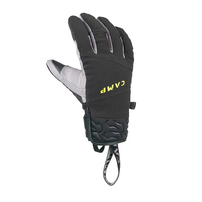 CAMP - GEKO ICE PRO - Gloves - black/yellow/grey