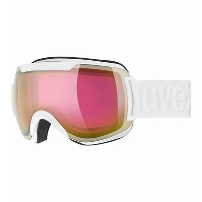 UVEX - DOWNHILL 2000 FM - Masque ski white/mirror pink