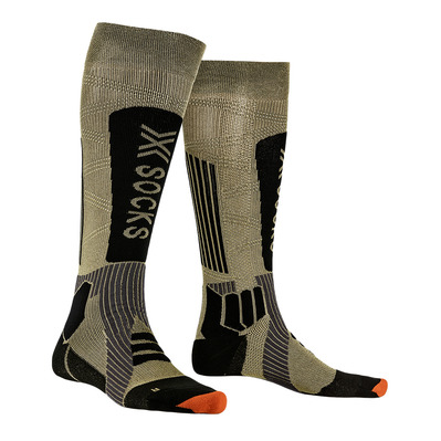 X-SOCKS - HELIXX GOLD 4.0 - Calcetines de esquí golden/negro