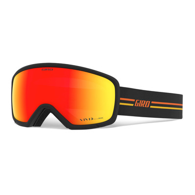 GIRO - RINGO - Schneebrille - gp black/orange vivid ember