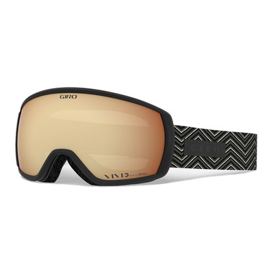 GIRO - FACET - Schneebrille black zag vivid copper