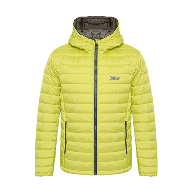 COLMAR - HOODED PRIMALOFT QUILTED - Doudoune Homme lime/jungle