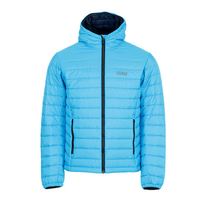 COLMAR - HOODED PRIMALOFT QUILTED - Doudoune Homme mirage/blue black