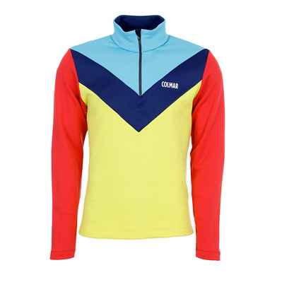 COLMAR - TECHNOLOGIC HALF ZIP COLORBLOCK - Sweat Homme tweety/marins/heaven