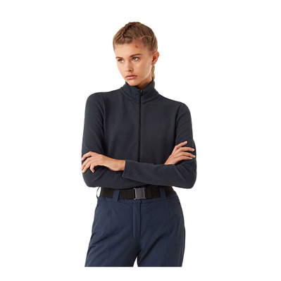 COLMAR - FULL ZIP JACQUARD - Sweat Femme blue black