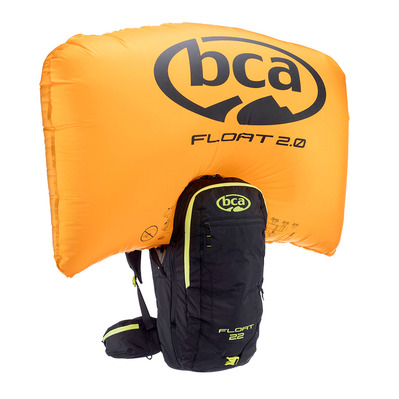 BCA - FLOAT 2.0 22L - Airbag-Rucksack - black