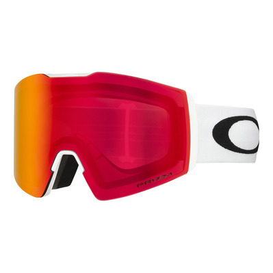 OAKLEY - FALL LINE XL - Masque ski white/prizm snow torch iridium