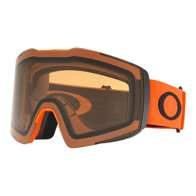 OAKLEY - FALL LINE XL - Masque ski orange/prizm persimmon