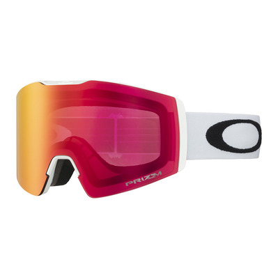 OAKLEY - FALL LINE XM - Masque ski white/prizm snow torch iridium