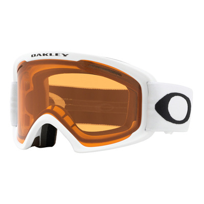 OAKLEY - O FRAME 2.0 PRO XL - Masque ski white/persimmon + dark grey