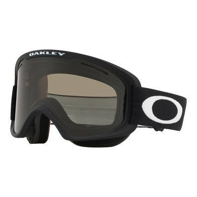 OAKLEY - O FRAME 2.0 PRO XM  - Masque ski matte black/dark grey + persimmon
