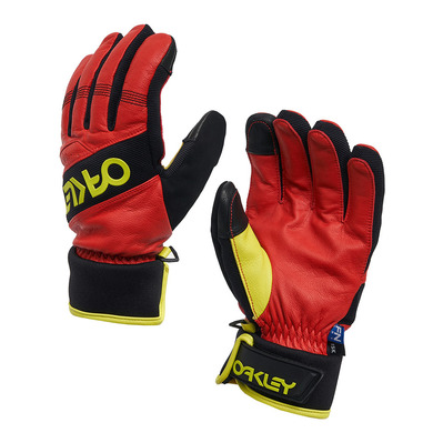 OAKLEY - FACTORY WINTER - Gants Homme high risk red