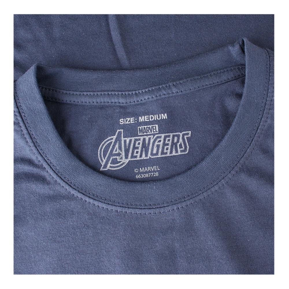 Marvel Stencil Logo T-Shirt Uomo