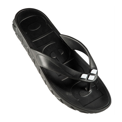 ARENA - WATERGRIP - Chanclas mujer black/white